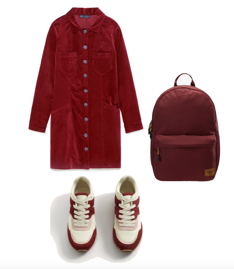 Outfit2 Pantone red pear