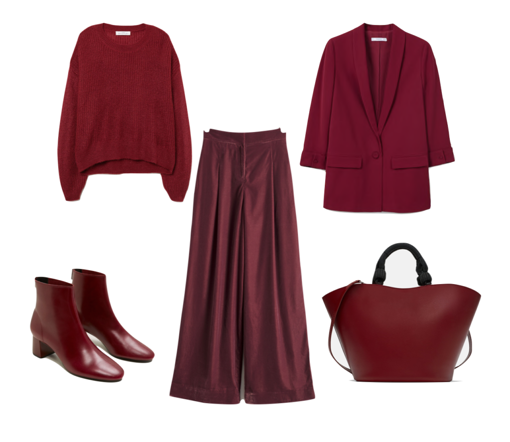 Outfit3 Pantone Red Pear